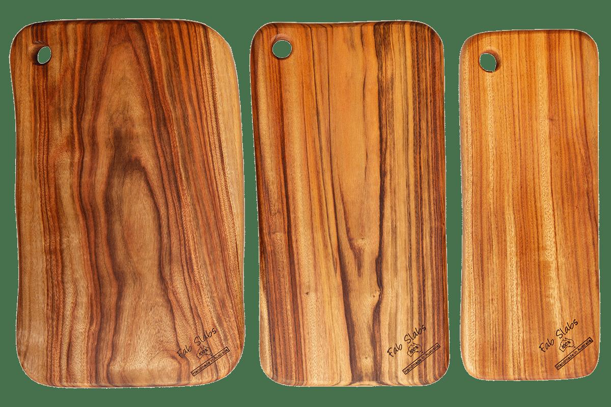 Anti bacterial camphor laurel cutting chopping boards
